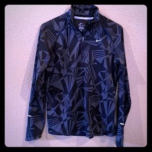 Nike Black Dri-Fit Quarter Zip